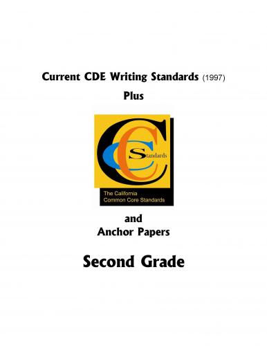 Image of CCCS Writing/Language Standards and Anchor Papers Packet Grade 2